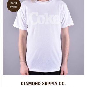 RARE! Diamond Supply COKE shirt